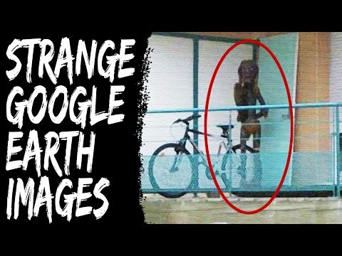 TOP 5 FREAKY GOOGLE EARTH IMAGES (Creepy Countdown)