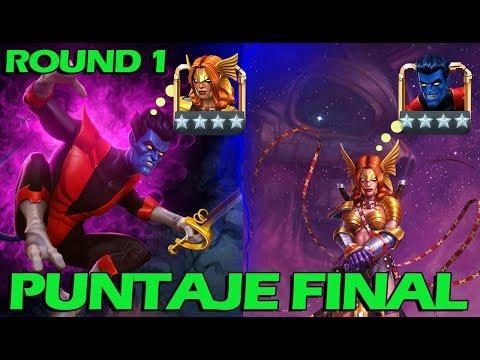 ANGELA round 1 PUNTAJE FINAL  Marvel Contest of Champions