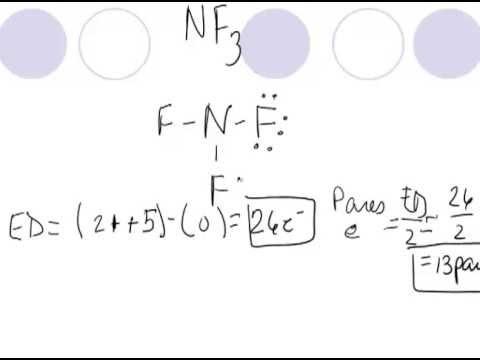 Estructuras De Lewis Nf3