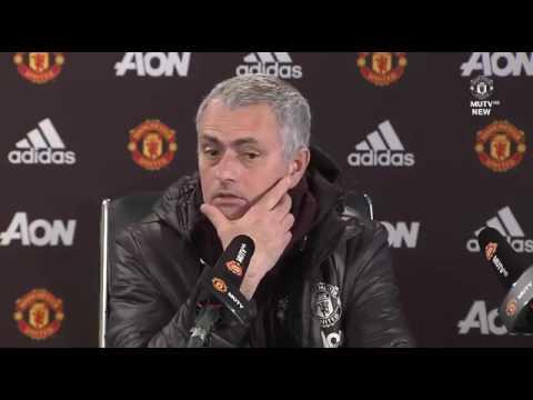 Jose Mourinho S Pre Match Press Conf Nce Manchester United Vs Bournemouth
