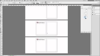 InDesign البرنامج التعليمي: استخدام الصفحات الرئيسية لإنشاء قوالب -HD-