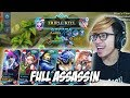 NEW META FULL ASSASSIN RICUH NGAKAK MOBILE LEGENDS INDONESIA mp3
