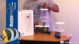 AquaMaxx ConeS HOB Protein Skimmer - Overview and Assembly