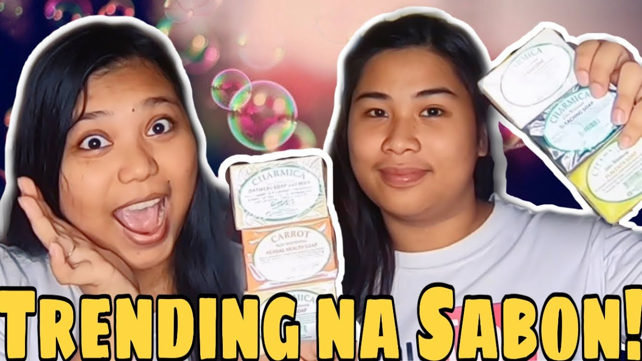 IBA'T IBANG SABON NA PAMPAPUTI | AFFORDABLE Whitening Soap | Pyscollection X CHARMICA REVIEW