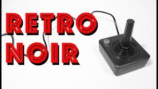 ATARI 2600 JOYSTICK Retro Noir