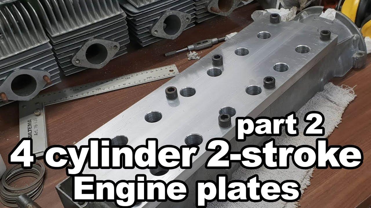Plates - 873 cc 4 cylinder 2-stroke part 2