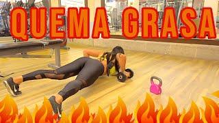 RUTINA QUEMA GRASA COMPLETA entrena ABDOMEN con Ana Mojica Fitness