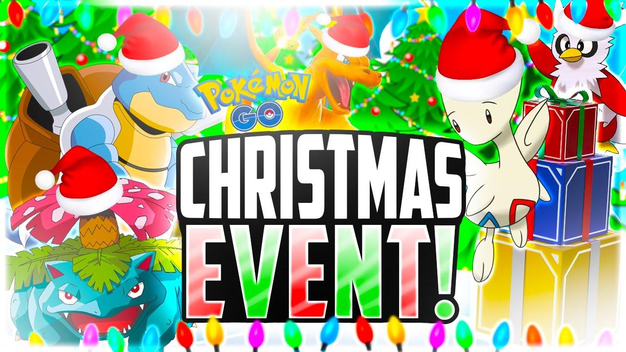 pokemon go christmas event is here free incubators charizards everywhere youtube