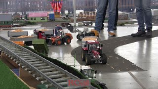 RC TRUCKS AND CONSTRUCTION MACHINES beim Echtdampf Hallentreffen Karlsruhe 2016 - part 2