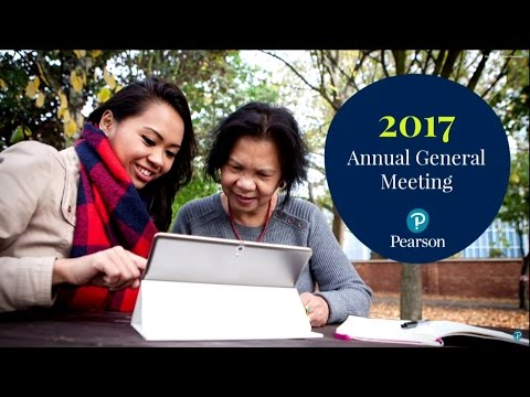 2017 Pearson Annual General Meeting