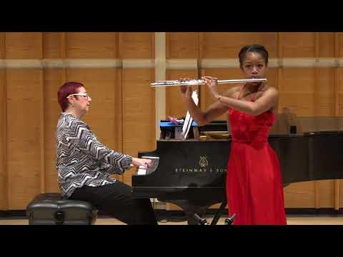 Kali Blain, flute - 2018 Henry Schneider Young Virtuosos Concert
