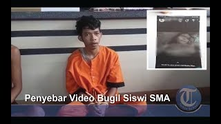 Ferry Penyebar Video Bugil Siswi SMA Prabumulih Ditangkap