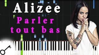 Alizee - Parler tout bas [Piano Tutorial] Synthesia | passkeypiano