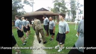 USASOC | White Lake | Water Jump | German Airborne Wings