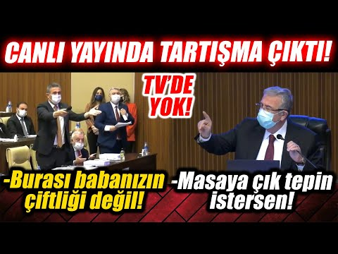 """Mansur Yavaş ayar üstüne ayar verdi! AKP'liler Meclis'i terk etti! """"Masaya çık tepin istersen!"""""""