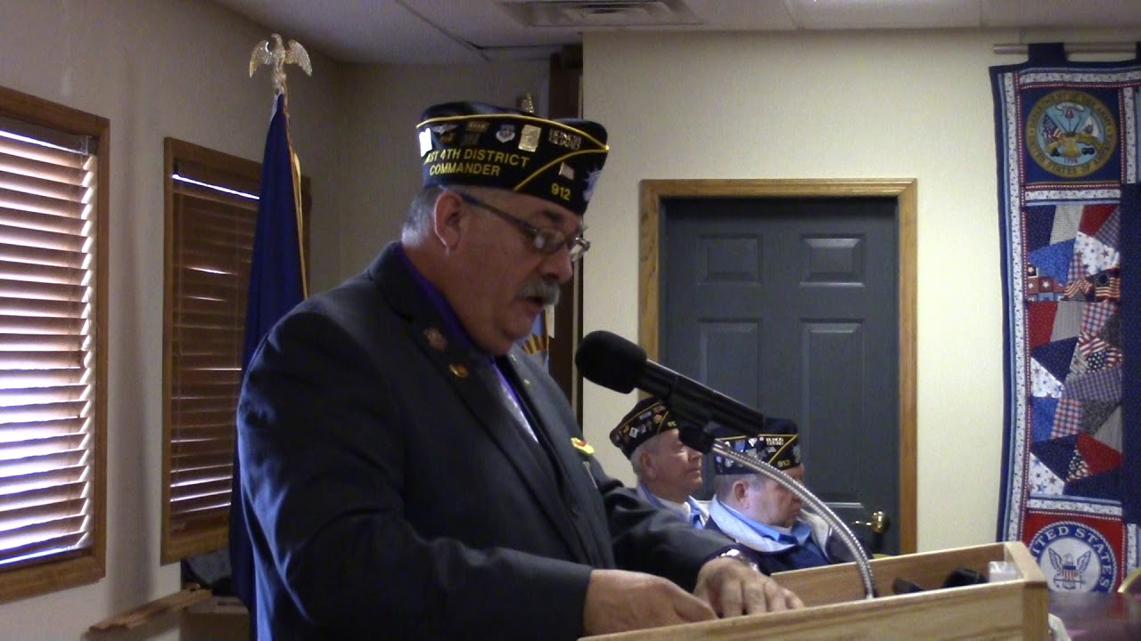 RP American Legion Post 912 Veterans Day  11-11-18