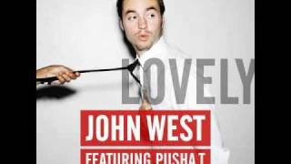 john west   lovely feat pusha t