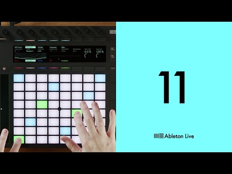 """<span class=""""title"""">Ableton Live 11: Polyphonic aftertouch on Push</span>"""
