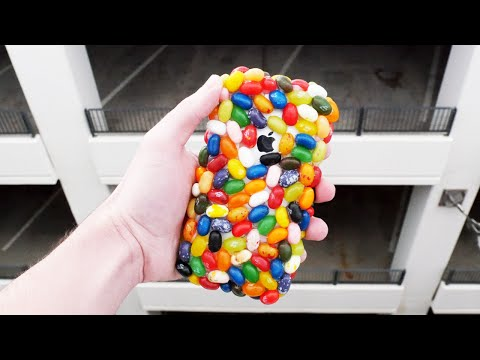 Can Jelly Belly Beans Protect an iPhone 6S from 100 FT Drop Test?