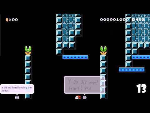 "Super Mario Maker Death Reel - ""Shyguy Rides Again"" from TowerFall Ascension creator Matt Thorson"