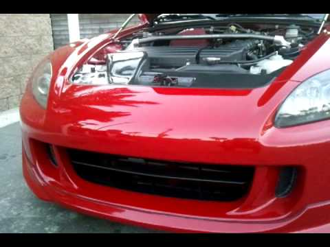 S2000 motorized front license plate & S2000 motorized front license plate - YouTube