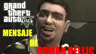 GTA V ONLINE EL MEJOR EASTER EGG DEL JUEGO | ROMAN BELLIC MANDA UN MENSAJE POR MORSE EN GTA 5