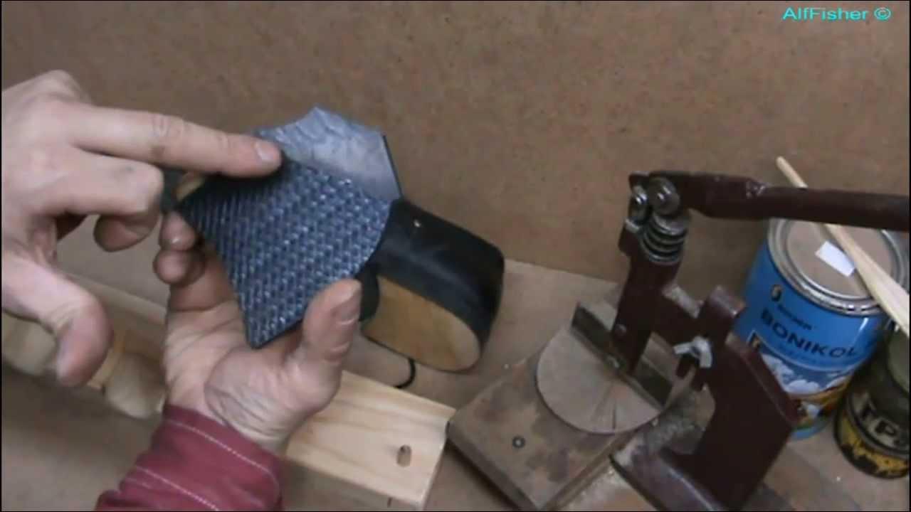 Ремонт обуви , воскрешаем убитые кроссовки - YouTube