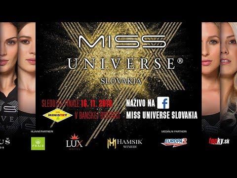 Priamy prenos XX. Miss Universe Slovakia na YouTube thumbnail