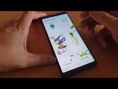 Samsung Galaxy Note 9. S Pen Tutorial Para Dibujar Con PENUP