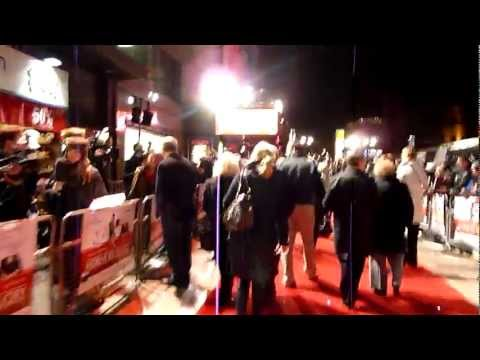 Walking the red carpet with Harrison Ford at the London Premiere of Morning Glory feat Peter Andre