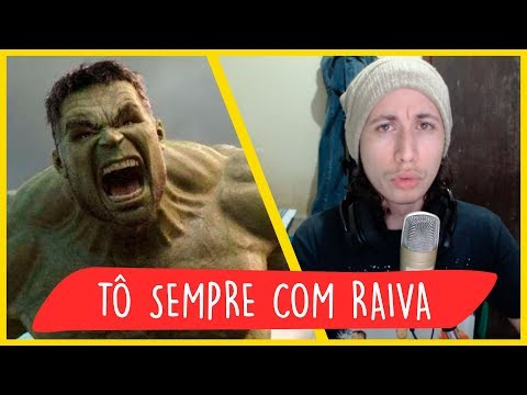 REACT Rap do Hulk - TÔ SEMPRE COM RAIVA | NERD HITS (7 Minutoz)