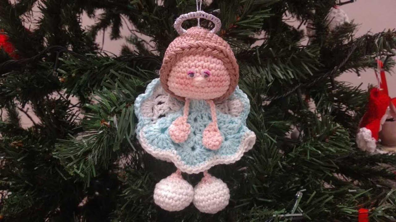 Addobbi amigurumi: cappello di Babbo Natale a uncinetto. | 720x1280