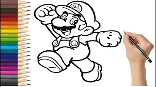 Drawing Super Mario World