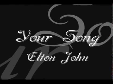 ♥ Best wedding song ♥ Your Song - Elton John