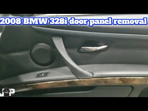 2008 Bmw 3 Series 328i Front And Rear Door Panel Removal Youtube