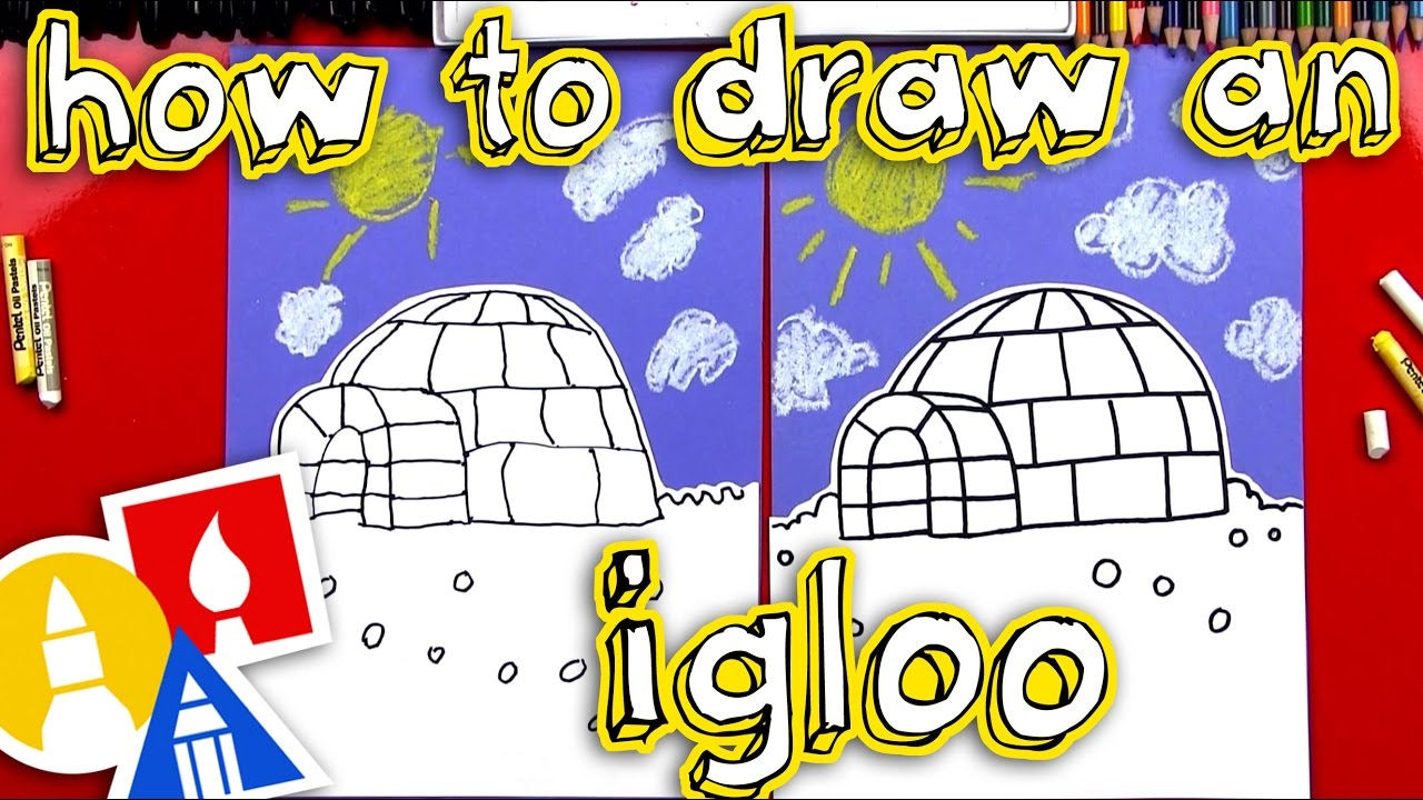 Watch How to Draw an Igloo video