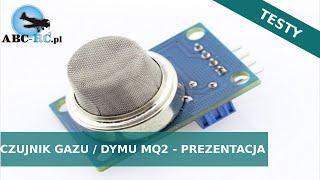 Czujnik gazu/dymu MQ-2 - prezentacja podłączenia - ABC-RC.PL