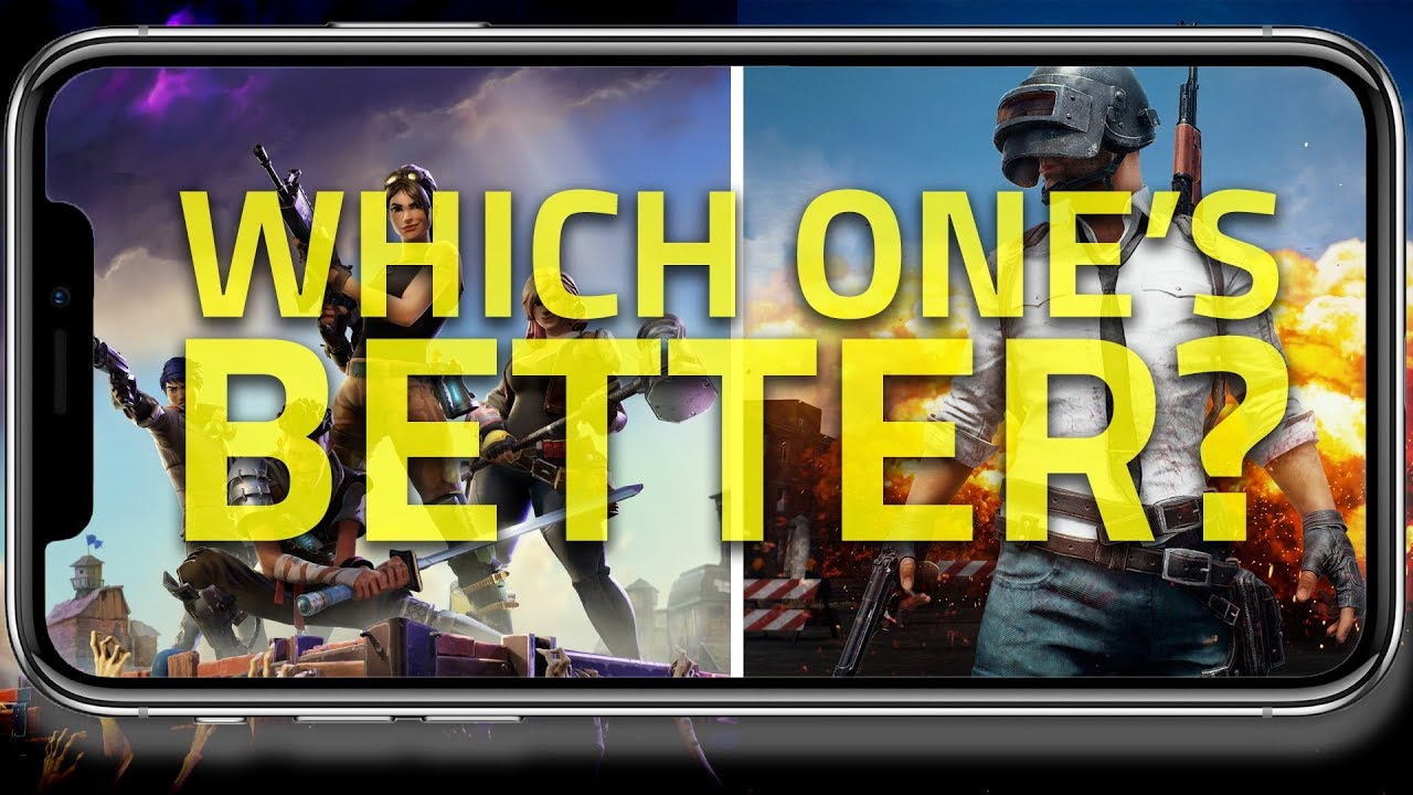 Fortnite Vs Pubg Mobile Which One S Better For Mobile Gaming Youtube
