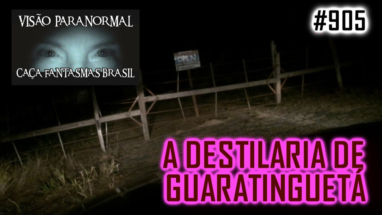 KBC Kid Boy Checheu Destilaria Abandonada - Caça Fantasmas Brasil - # 905