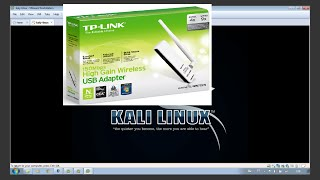 how to install an external wireless usb adapter in kali linux