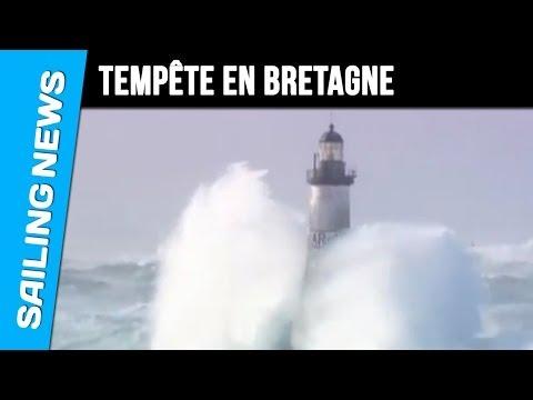 Tempte sur la Pointe de Bretagne
