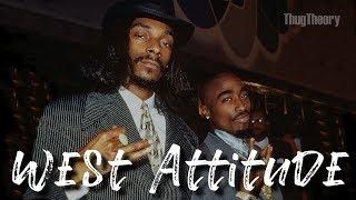 2Pac ft. Snoop Dogg - West Attitude | 90s Old School Boom Bap West Coast Type Beat