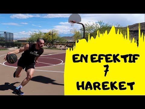 BASKETTE DURDURULMAZ 7 HAREKET !! NBA Oyunculari Analizli Anlatim..