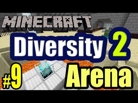 Tackle⁴⁸²⁶ Minecraft Custom Map - Diversity 2 (Arena - การต่อสู้) #9