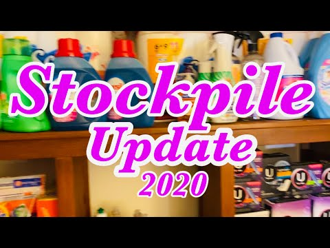 Stockpile Update For 2020 And I STOPPED Couponing 😩Couponing Crystle