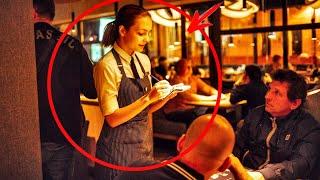 Миллионер насмехался над бедной семьей в дорогом ресторане... Поступок официантки облетел весь мир