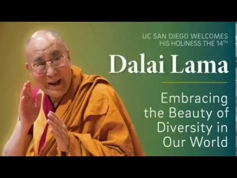 The Dalai Lama Speaks at UC San Diego on 'Embracing the Beauty of Diversity in Our World'