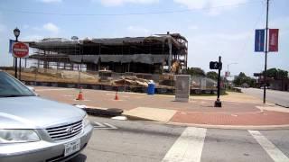 Arlington TX Library Demolition Concrete Dust & Asbestos Exposures?