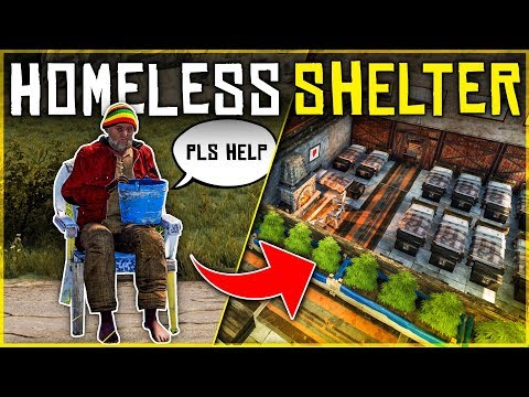 Running a HOMELESS SHELTER for NEW PLAYERS - Rust Shop Roleplay thumbnail