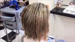 видео Как убрать желтизну с волос после мелирования